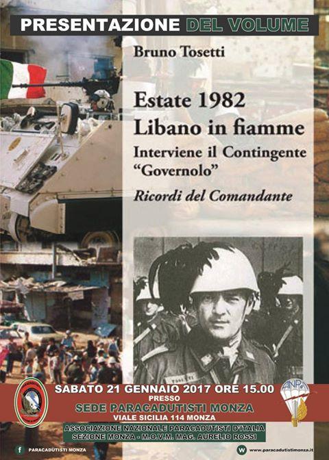 Presentazione del volume Estate-1982 Libano in fiamme