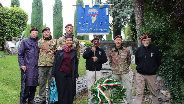 """Alza Bandiera al Sacrario della """"Piccola Caprera"""""""
